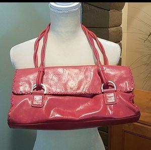 Sigrid Olsen Pink Leather Shoulder Bag